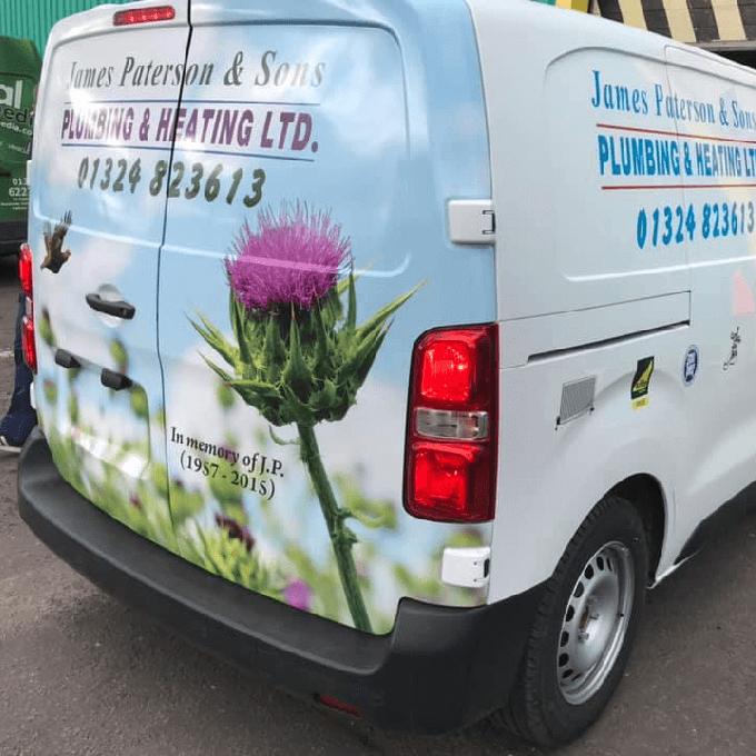 James Paterson & Sons Company Van