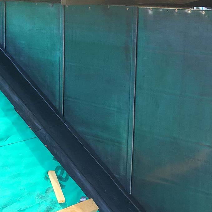 James Paterson & Sons Lead Gutter and Rainwater Installation