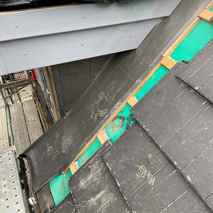 Lead Gutter and Rainwater Installation