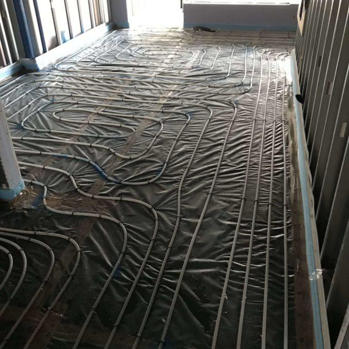 Under Floor Heating Installation Scotland